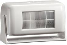 Servodan PIR sensor, Trådløs, 44-045, Hvid