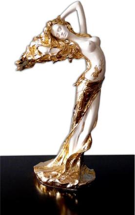 Steve Art Gallery En vacker flicka, 70x48x25 cm