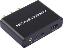 ARC Muunnin - HDMI ARC - SPDIF + Coaxial + L/R 192KHz