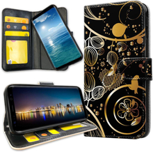 Samsung galaxy s20 ultra - mobilfodral guldmönster