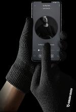 Strickhandschuhe Full Palm Touchscreen Männlich Plus Full Finger Warm Slippery Gloves
