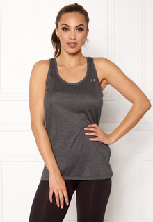 Under Armour Tech Tank Carbon Heather XS