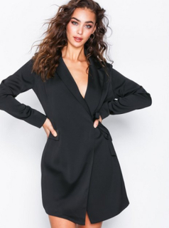 Glamorous Wrap Blazer Dress Fodralklänningar Black