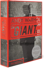 "Andy Warhol ""giant"" Size, Mini Format Hardcover Book - Black"