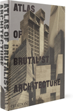Atlas Of Brutalist Architecture Hardcover Book - Black
