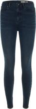 VERO MODA High Waist Skinny Fit Jeans Women Black