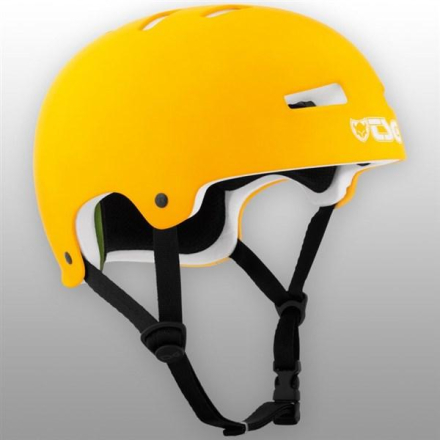 TSG hjelm - Evolution Solid Color Flat neon orange