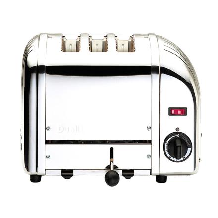 Dualit - Vario Classic Brødrister 3-Skiver, Orginal 220V