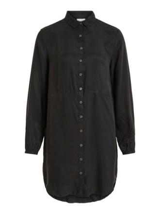 VILA Shirt Dress Women Black