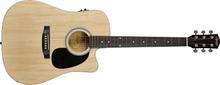 Fender Squier SA-105CE Acoustic Guitar (Natural)