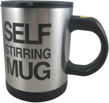 Self stirring mug - kaffemuggen från framtiden