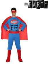 Kostume til voksne Superhelt