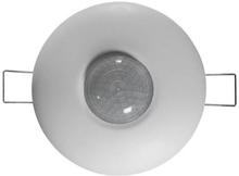 Servodan tilstedeværelsessensor Minilux PIR-Sensor 360° 24V Ø90 mm. i hvid