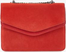 PIECES Suede Crossbody Bag Kvinna Röd