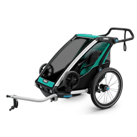 Thule Chariot Lite1 (2018) Cykel- & Barnvagn Blå OneSize