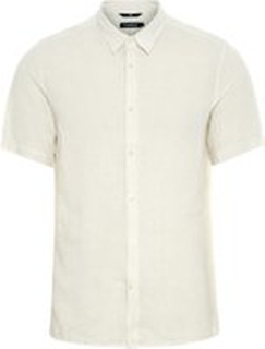J.LINDEBERG Daniel Linen Shirt Man White