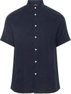 J.LINDEBERG Daniel Linen Shirt Man Blå