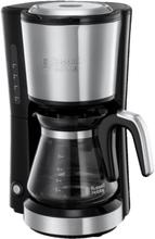 Russell Hobbs Compact Home Coffee Maker Kaffetrakter - Børstet Stål