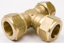 VSH super D1420 T- koppling, 28 x 28 x 28 mm, mässing