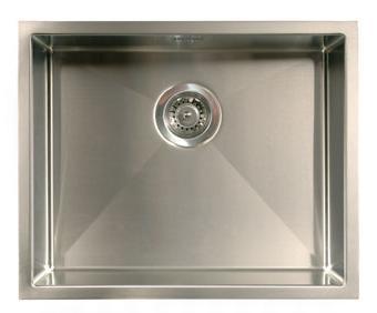 Intra Quadra 500 Diskho 54,6x44,6 cm m/korgventil till underlimning - rostfritt stål