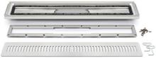 Unidrain 4004 avloppsarmatur till vinyl 700 mm, komplett med galler