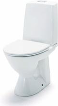 IDO Glow 61 rimfree golvstående toalett (p-lås) - Mjuksits
