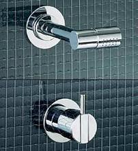 Vola 2281 duschblandare med tak/huvud - Rostfritt stål