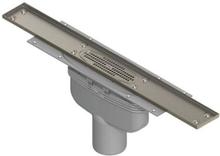 Purus Line för klinkergolv, 75 mm bottenutlopp - 1200 mm
