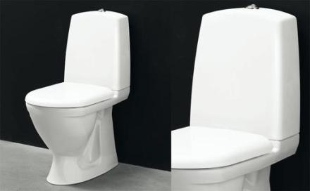 Svedbergs WC 9085 m/S-lås och vit sits m/softclose