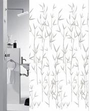 Badeforhæng - Bambus - 180x200 cm. - Klar til ophæng
