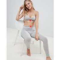 Calvin Klein Monogram pyjama legging grey - Grey heather