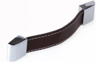 Noro Trend handtag cc 128 mm - brun/krom
