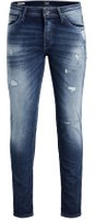 JACK & JONES Glenn Original Jos 118 Slim Fit-jeans Man Blå