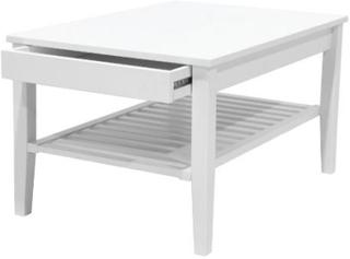 Zebra Collection ~ NOVA soffbord med låda Vit