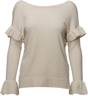 May Pu Langærmet T-shirt Creme Part Two