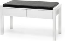 Zitti bänk Vitlack 88x36 cm