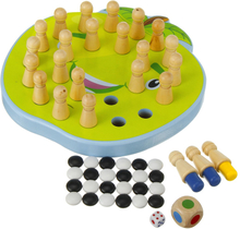 2-in-1 Wooden Memory Chess Baby Kids Educational Toys Parent-Child Leisure Fun