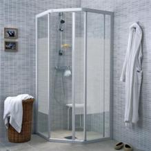 Ifö Solid Duschvägg SVP 70x90x195cm Klart glas/Aluminium profil
