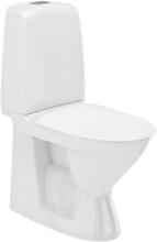 Ifö Spira 6260 toalett m/dolt s-lås och hårdsits, soft-close, för limning, utan spolkant