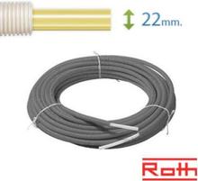 Roth Universal Pex Rör-i-Rör 22 mm till vatten och värme (60 m)