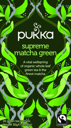 PUKKA - Supreme Matcha Green Tea