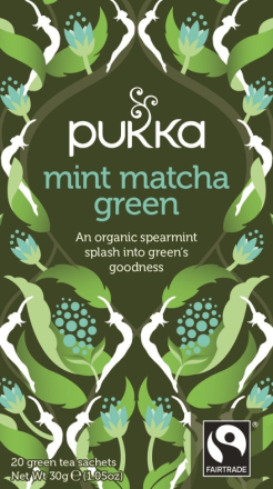 PUKKA - Mint Macha Green Tea