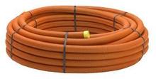 Kabelskyddsrör PEH, orange, slätinsida, 50/42 mm x 50 m - till telekabel