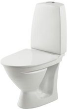 Ifö Sign 6832 toalett, kort modell, med p-lås & mjuksits