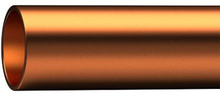 Kopparör Hårt 42 mm - 2,5 meter