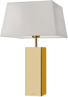 Villeroy & Boch ~ Prag bordslampa fyrkantig - Guld