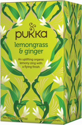 PUKKA - Lemongrass & Ginger Tea