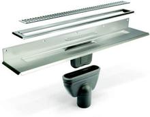 Unidrain Komplett Paketlösning 900 mm till 8 mm kakel (1bakvägg)
