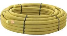 Kabelskyddsrör PEH, gul, slät insida, 110/95 mm x 50 m