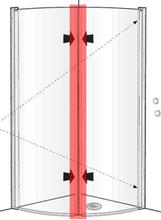 Ido magnetlist till Showerama duschdörr/vägg